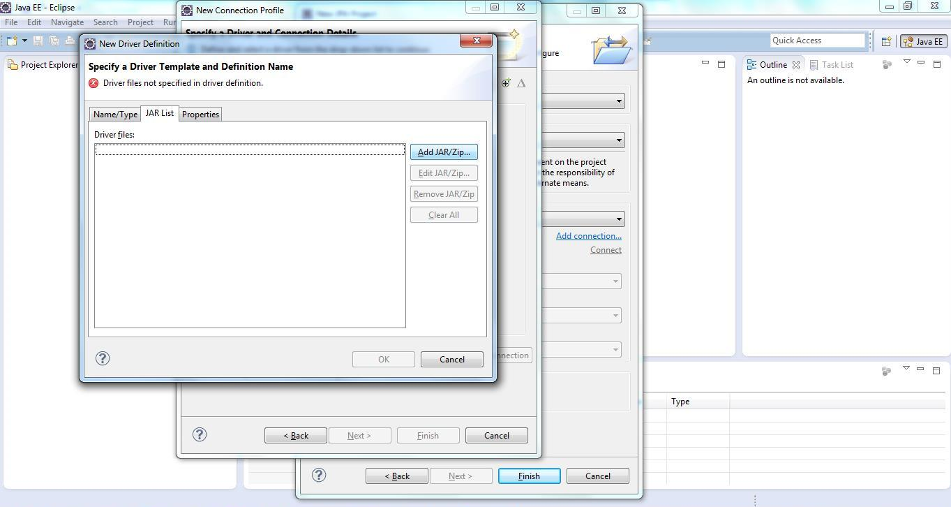 JPA Project & Data Connection for MySQL Step 11