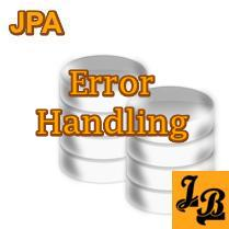 How to resolve javax persistence NoResultException OR javax