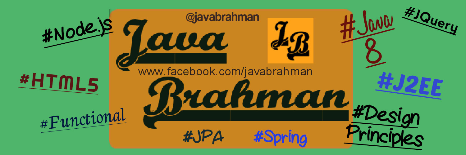 JavaBrahman Homepage Cover Photo